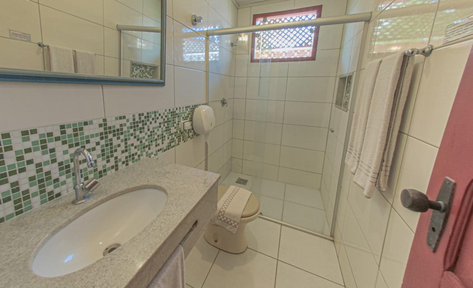 Apartamento Standard banheiro 01
